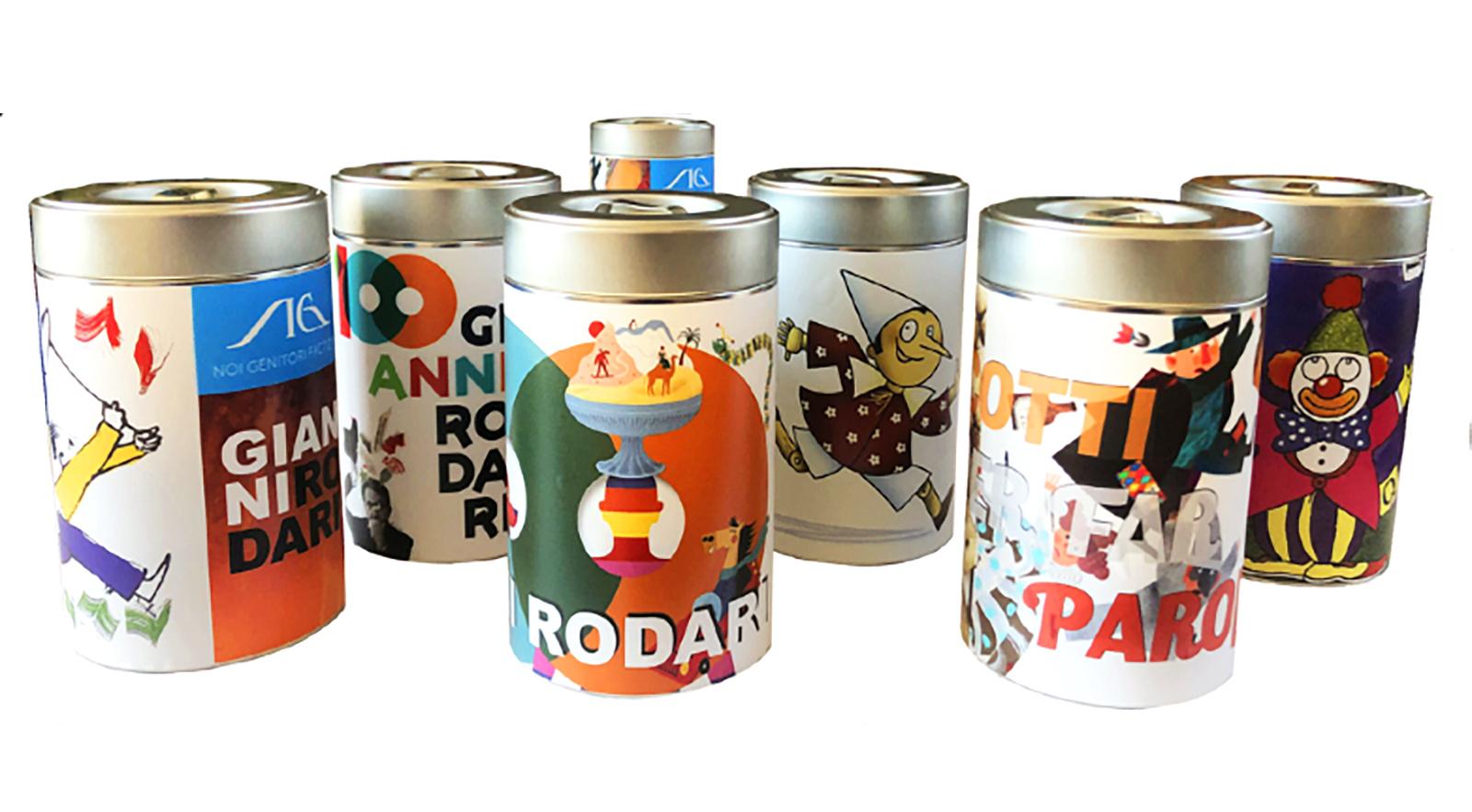 Le scatole di Gianni Rodari