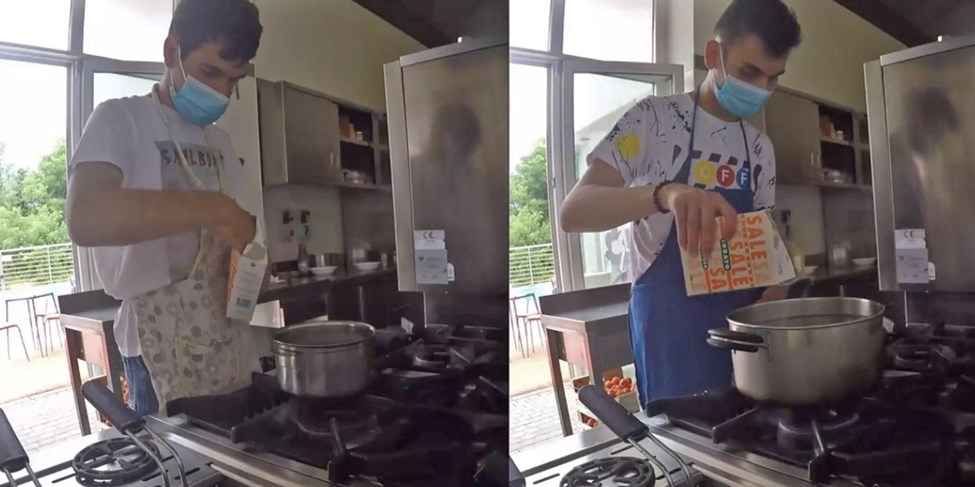 3 minuti con Noi: La Cucina